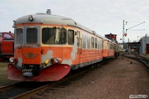 SJ YBo8 1125+UBFo 7ye 2087. Kristinehamn 15.04.2009.