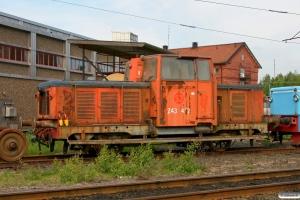 SJ Z43 422. Nässjö 08.06.2012.