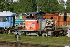 TÅGAB Z66 601. Kristinehamn 05.06.2012.