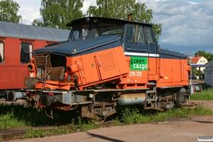 TÅGAB Z70 722. Kristinehamn 05.06.2012.