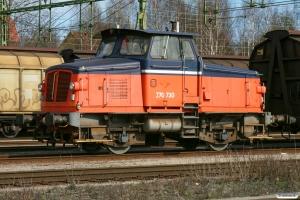 TÅGAB Z70 730. Kristinehamn 16.04.2009.