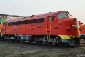 MÁV M61 006. Tapolca 16.04.1991.
