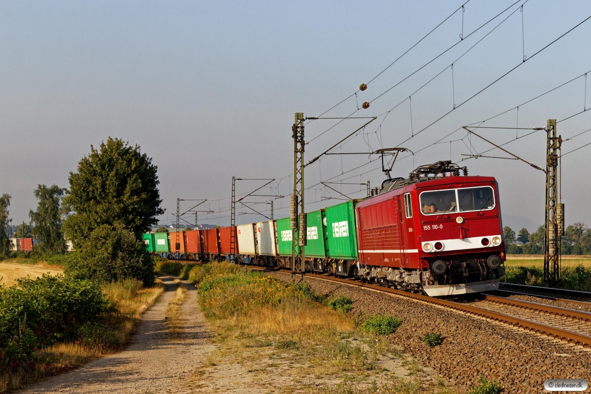 WFL 155 110-0. Elze - Nordstemmen 14.08.2019.