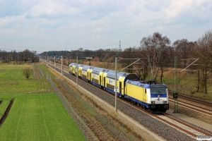 MET 146 541-8 med ME 81617. Radbruch - Bardowick 22.03.2014.