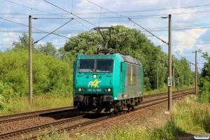 ITL 185-CL 006. Hamburg-Moorburg 09.08.2013.