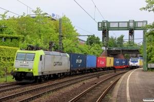ITL 185 542-8. Hamburg-Harburg 10.05.2014.