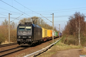 CTL 185 545-1. Hamburg-Moorburg 20.03.2014.