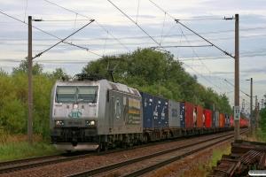 ITL 185 548-5. Hamburg-Moorburg 28.08.2012.