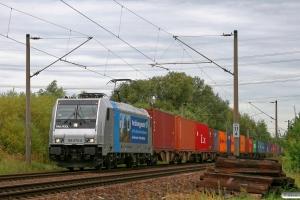 EVB 185 675-6. Hamburg-Moorburg 15.09.2012.