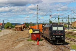 RUSH 185 410-9 - Lok til GT 43025. Ljusdal 12.06.2015.