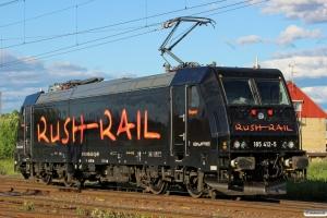 RUSH 185 412-5. Borlänge 11.06.2013.