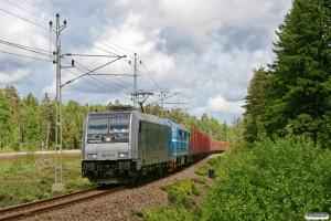 TXL 185 671-5+STAB TMX 1042. GT 33998. Ryr - Uddevalla 04.06.2012.