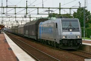 PRAB 185 675-6 med GT 48818. Halmstad 24.08.2011.
