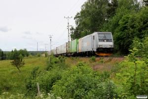 CN 185 704-5 med GT 41962. Ragunda - Bispgården 21.06.2018.
