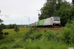 CN 185 705-2 med GT 41902. Ragunda - Bispgården 21.06.2018.