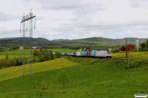 CN 185 713-6 med GT 41904. Långsele - Österås 09.06.2015.
