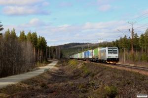 CN 185 714-4 med GT 41907. Karlsberg - Nyhem 02.05.2016.