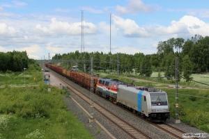TXL 185 715-1+TTT TMZ 1407 med GT 50765. Tobo 10.06.2013.