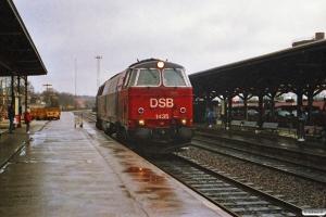 DSB MZ 1435. Kolding 15.11.1989.