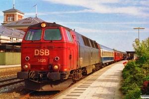 DSB MZ 1425 med IP 276 Flb-Fh. Ålborg 02.07.1993.