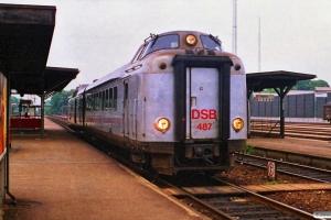 DSB BS 487+MA 461. Prøvetur Hgl-Rg-Hgl. Ringsted 21.06.1988.
