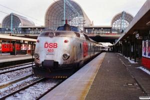 DSB MA 464+MA 463 med L 124 Str-Kh. Høje Taastrup 25.11.1989.