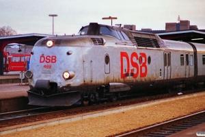 DSB MA 469 forrest i L 115 Kh-Fh. Odense 26.12.1989.