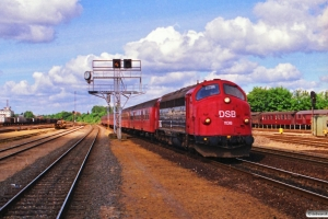 DSB MY 1138 med P 1534 Te-Kh. Odense 02.06.1989.