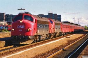 DSB MY 1116+MY 1154 med IC 119 Kh-Ti. Odense 15.10.1989.