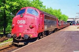 DSB MY 1142 med G 8850 Va-Od. Fredericia 05.05.1990.