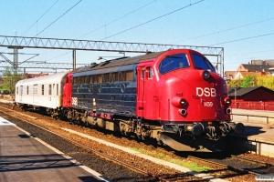 DSB MY 1159+DB Dms. Helsingør 07.05.1991.
