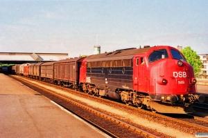 DSB MY 1149 med G 7667 Od-Es. Fredericia 27.05.1991.