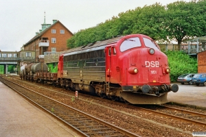 DSB MY 1151 med G 9233 Vo-Nf. Vordingborg 01.07.1991.