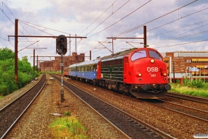 DSB MY 1157 med IN 381 Hg-Kh. Nordhavn 21.06.1992.
