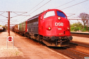 DSB MY 1155 med G 9130 Ab-Gb. Ringsted 01.05.1993.