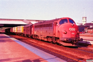 DSB MY 1132 med G 7260 År-Ng. Fredericia 10.05.1993.