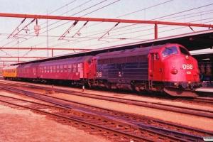 DSB MY 1135+Bk+BD+60 86 99-44 100-2 som M 8150 Od-Ng. Odense 11.05.1993.