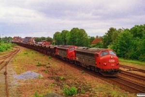 DSB MY 1128+MY 1146+30 Fcc/Fccs som G 8763 Fa-Ti. Brande 27.06.1993.