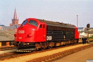 DSB MY 1125 solo som M 8619 Vj-Jl. Vejle 23.04.1994.