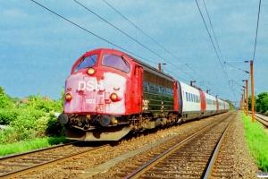 DSB MY 1122+ER 01+ER 02 som M 6019 Gb-Ig. Vigerslev 27.06.1994.