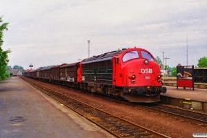 DSB MY 1157+16 Hbis som G 7276 Od-Ng. Nyborg 30.05.1995.