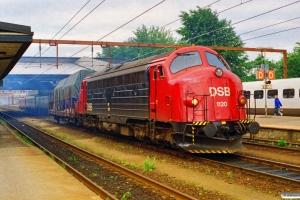 DSB MY 1120 med G 7417 Fa-Ar. Fredericia 20.06.1995.