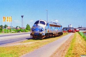 DSB MY 1126. Horsens 29.06.1995.