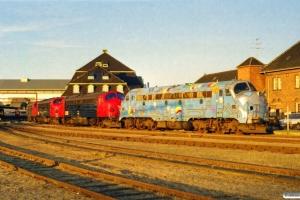 DSB MY 1126+MY 1150+MY 1146+MY 1152. Odense 03.06.2000.