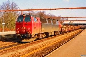 DSB MZ 1404+9 SJ Os/Kbps som G 87330 År-Kd. Fredericia 20.04.1994.