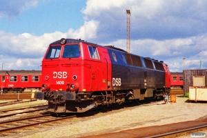 DSB MZ 1409. Nyborg Færge 29.04.1995.