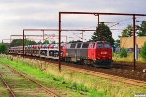 DSB MZ 1412 med G 9146 Pa-Gb. Odense 04.09.1996.
