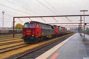 DSB MZ 1433+EA 3017+EA 3004 med G 6173 Fa-Ng. Odense 17.10.1996.