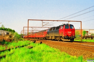 DSB MZ 1405 med RV 3153 Ngf-Ab. Odense 16.05.1997.