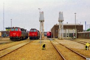 DSB MZ 1410, MZ 1401 og MY 1145. Ålborg 17.07.1998.
